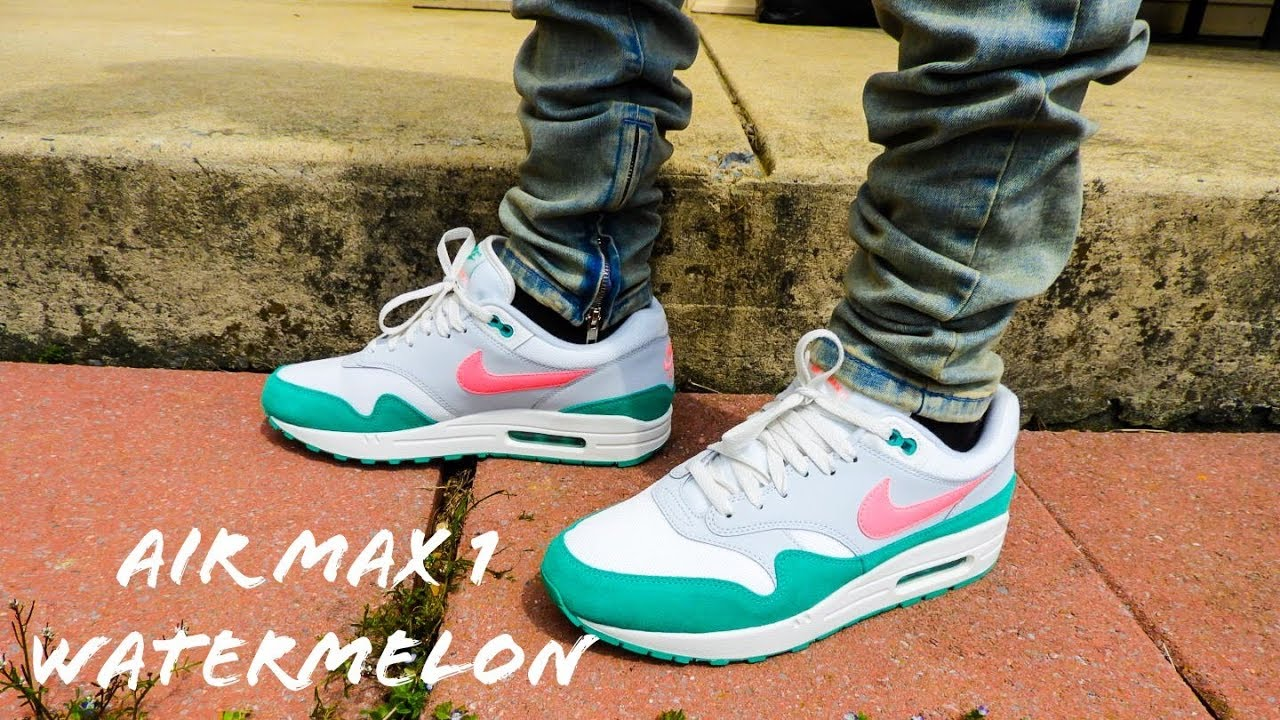 Nike Air Max 1 Watermelon On Feet Review!!!