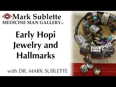 Early Hopi Jewelry, Silversmiths And Hallmarks