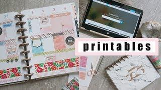 Easy DIY Planner Stickers | Free Printables