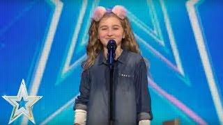 Cora Harkin channels her inner Barbara Streisand  | Auditions Series 1 | Ireland's Got Talent