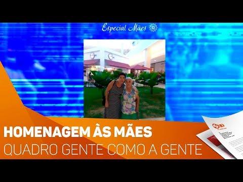 Quadro Gente como a gente: Homenagem às mães - TV SOROCABA/SBT
