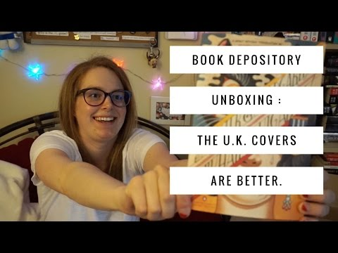 Book Depository Unboxing: The UK Covers are Better.