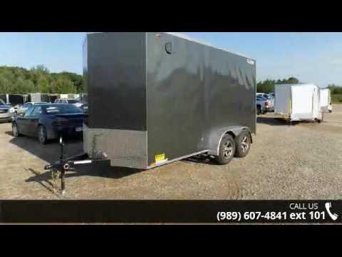 2017 Legend Trailers Cyclone V-Nose Steel 7X15STVTA35  - ...