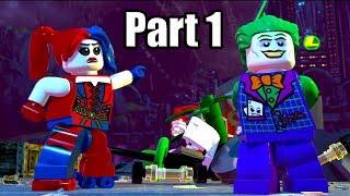 LEGO DC SUPER-VILLAINS [PS4 PRO] Gameplay Walkthrough Part 1 | No Commentary