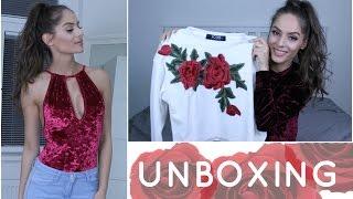 Unboxing věcí z Yoins | TRY ON