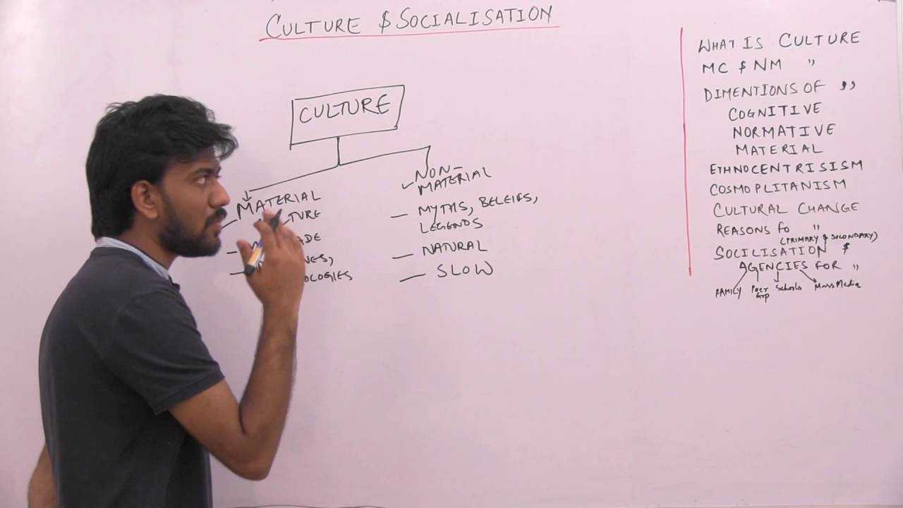 culture and socialisation