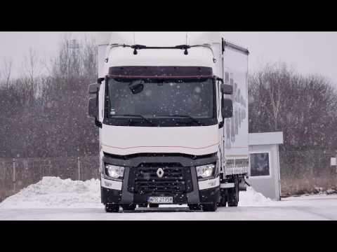 Renault Trucks T - transport ładunków przestrzennych