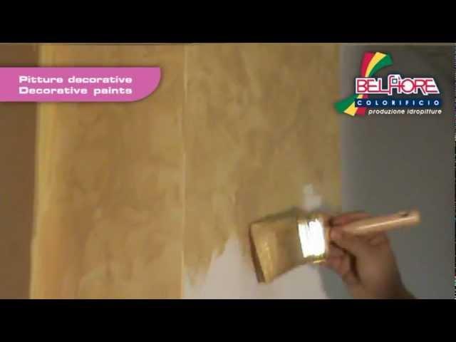Orchidea - Pittura decorativa per interno - YouTube