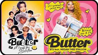 BTS Butter feat Megan Thee Stallion | BTS butter remix with Megan thee Stallion |butter Remix songs