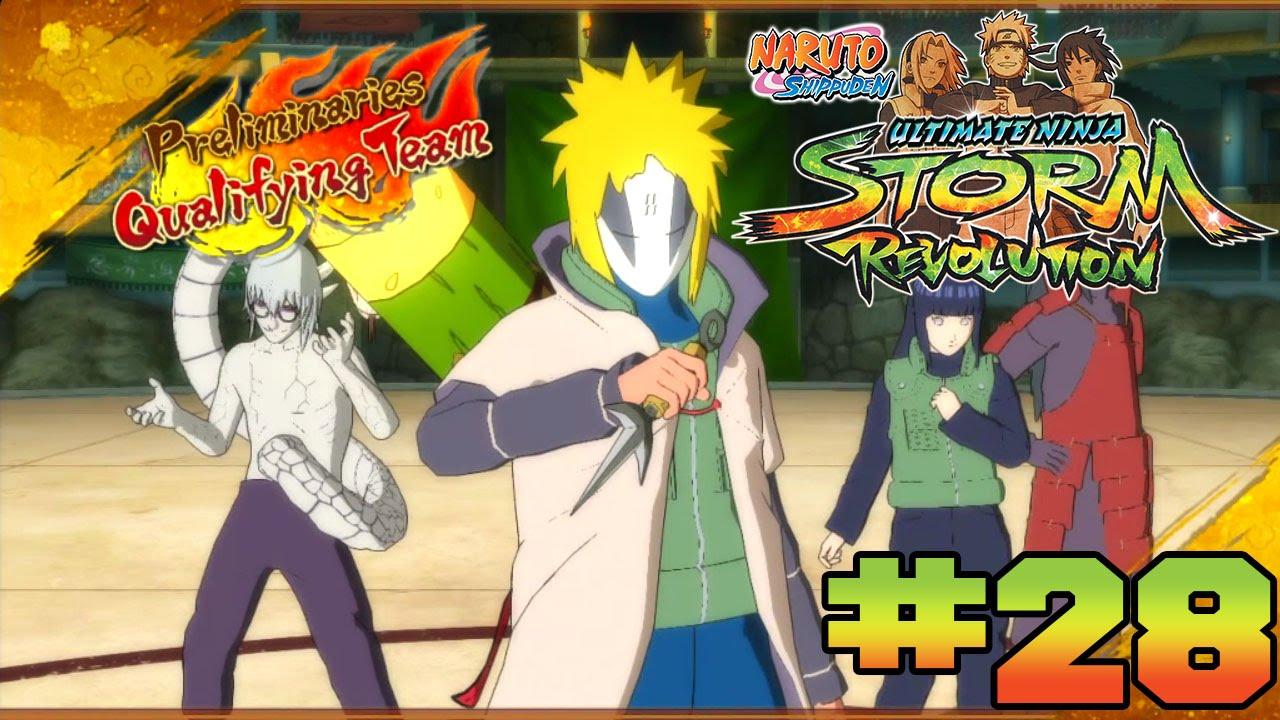 Naruto Shippuden: Ultimate Ninja Storm Revolution - Walkthrough Part 28 NWT S Rank - YouTube