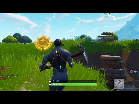 Fortnite Battle Royale 'Follow The Treasure Map Found In Salty Springs' - Season 4 Treasure Location