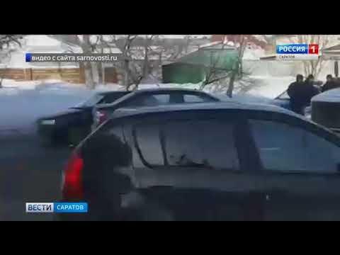 Два ДТП заблокировали подъезд к автовокзалу Саратова