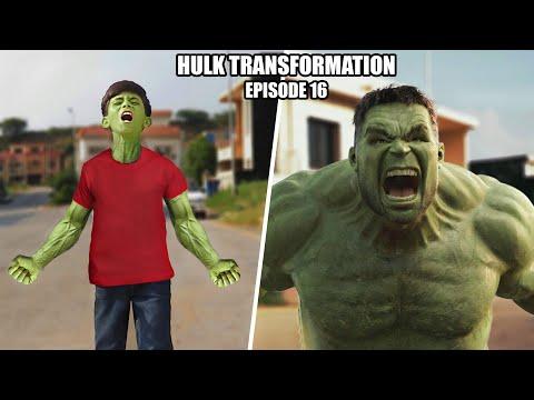 The Hulk Transformation Episode 16   A Short film VFX Test