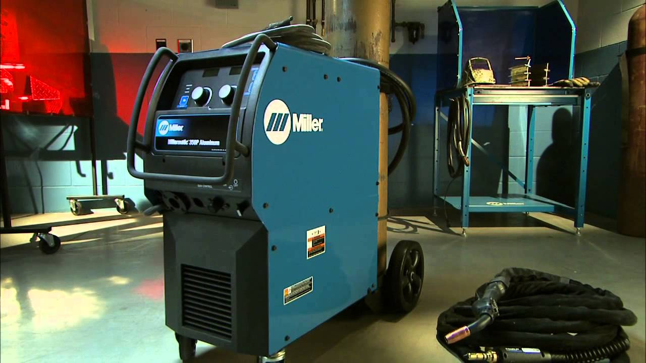 Introducing the Millermatic 350P Aluminum All-in-One MIG Welder ...