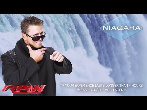 The Miz screens his new commercial: Raw, March 2, 2015 from YouTube · Duration:  4 minutes 29 seconds