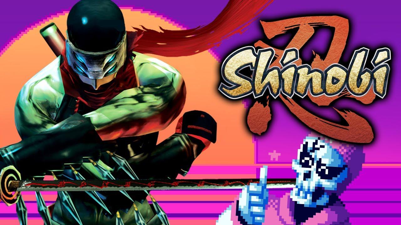 This Hotsuma's a real hottie! - Shinobi (PS2)