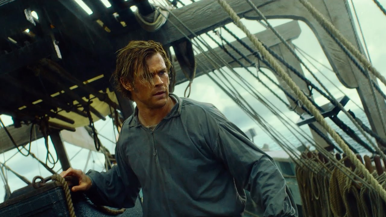 Chris Hemsworth takes to the waters in In the Heart of the Sea, which inspired Moby Dick