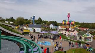 The Queen's Flying Coach ride NEW FOR Peppa Pig World 2018 POV
