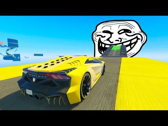 CARRERA TROLL 99999% DIFICIL - CARRERA GTA V ONLINE - GTA 5 ONLINE