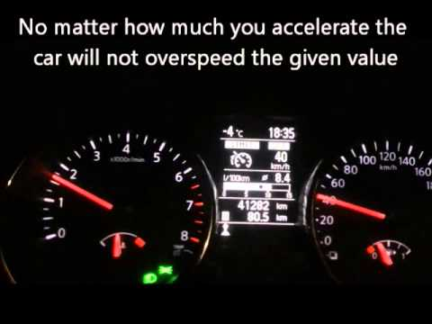 how to set speed limiter speed regulator on your car youtube. Black Bedroom Furniture Sets. Home Design Ideas