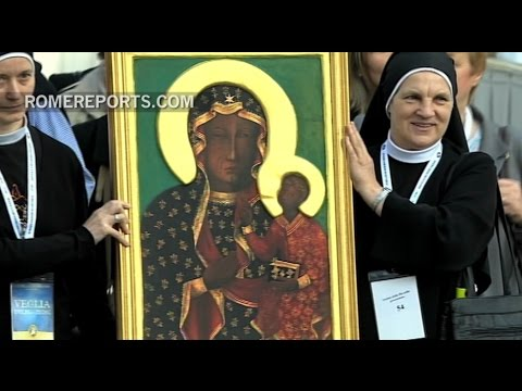 Pope expresses Mary's importance at the Marian Jubilee at the Vatican
