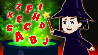 WITCH'S SPELL BOOK | Learn Spooky Spells with Camilla | Educational Cartoons for Kids | Annie & Ben
