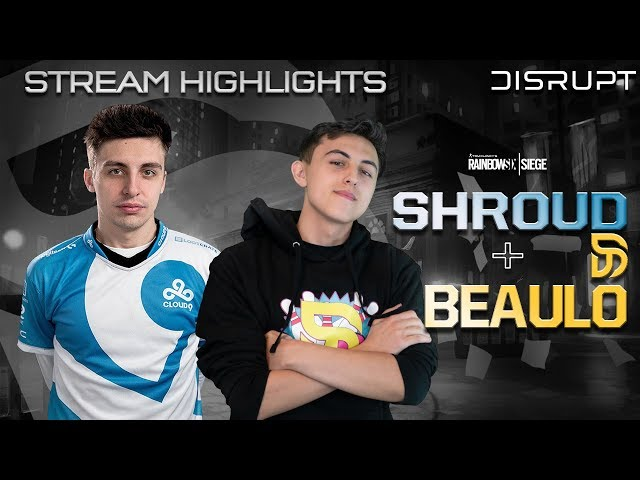 Beaulo teaches Shroud how to play Rainbow Six Siege with Macie Jay