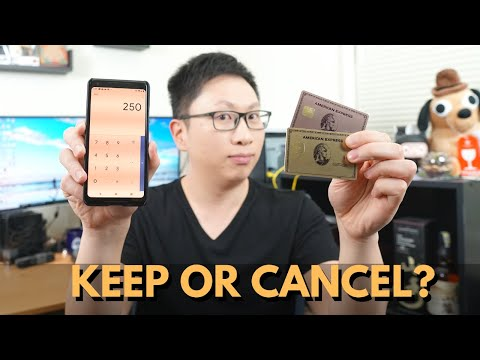 Should You KEEP Or CANCEL The AMEX GOLD Card? (Calculator)