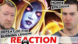 WOW Reaction! Defeat of the Burning Legion Horde Epilogue