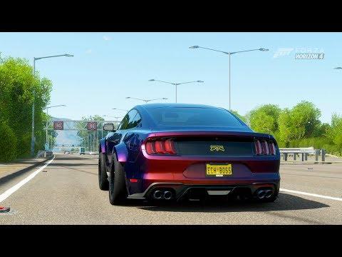 Forza Horizon 4| 980Hp+ 2018 MUSTANG 5.0 10R80 [Hard HWY Pulls] thumbnail