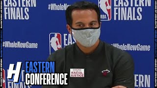 Erik Spoelstra Postgame Interview - Game 2 | Heat vs Celtics | September 17, 2020 NBA Playoffs
