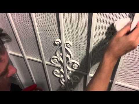 Prevent rust on steel security metal screen doors youtube - How to paint a steel exterior door ...