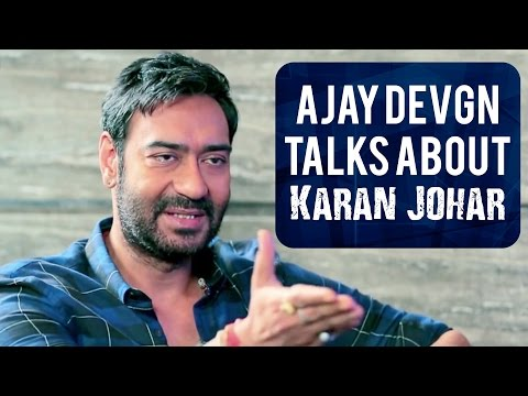 Ajay Devgn finally breaks his silence on Karan Johar!!