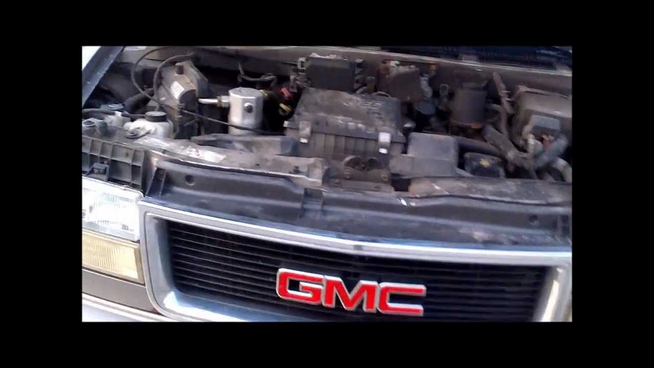Chevy Gmc Astro Van Safari ventilation repair - YouTube