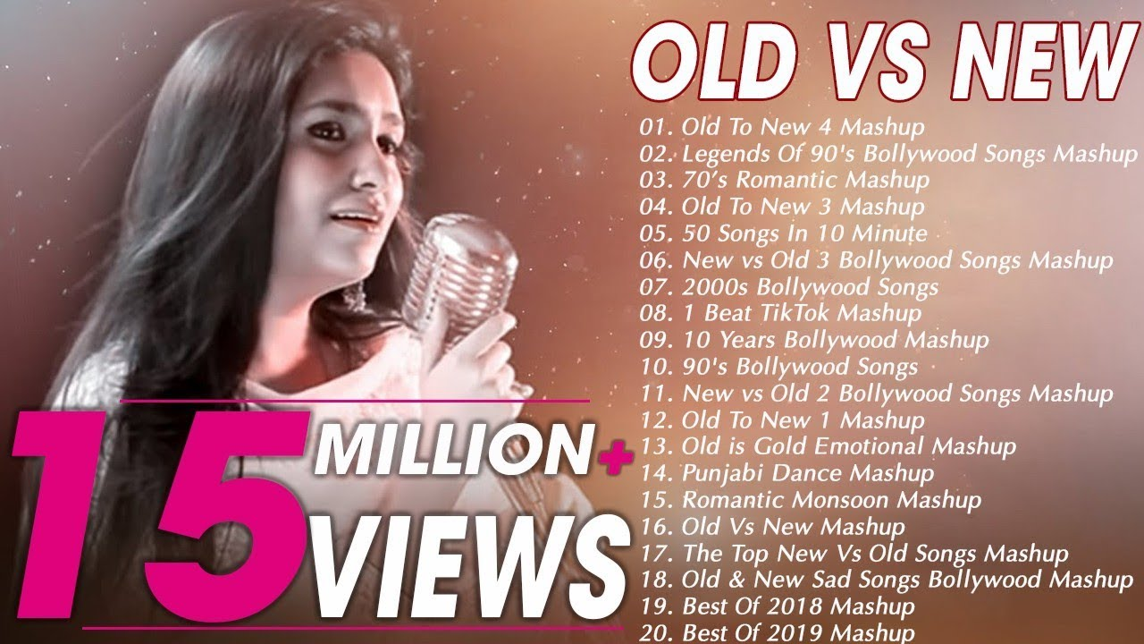 Download Old VS New Bollywood Mashup Songs   90's Bollywood Songs Mashup   Romantic HINDI Mashup songs 2019