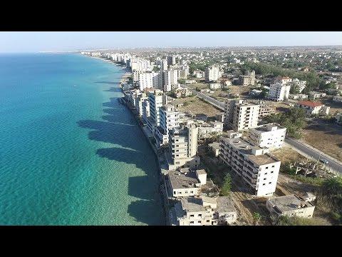 Varosha,Ghost town, Famagusta by drone Phantom 3