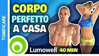 Allenamento Completo Total Body In Casa A Corpo Libero - Tonifica E Perdi Peso In 40 Minuti