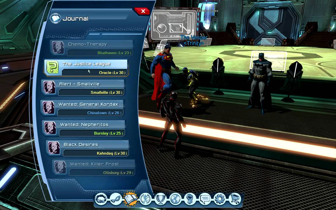 The Justice League Online
