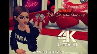 Avakin Life - Kiki Do you love me [Music Video] 4k Ultra HD