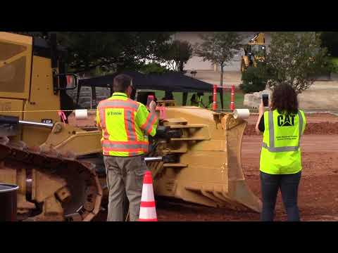 Caterpillar Global Operator Challenge Tests Equipment Operators Skills