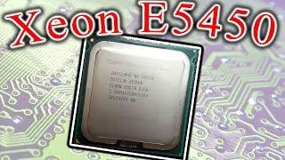 Intel Xeon E5450 установка в LGA 775 Socket