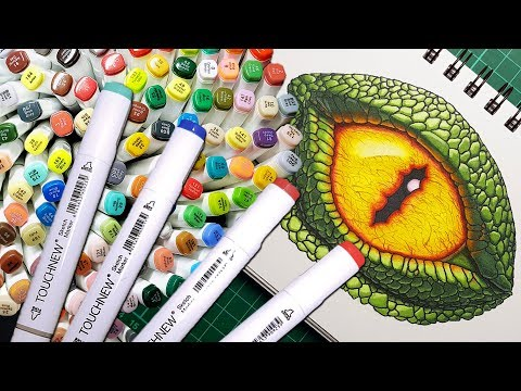 TOUCHNEW marker review cheap Copic marker alternative