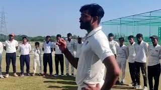 IPL Player Ankit Rajpoot preparing for upcoming domestic season at RTSE Cricket Academy, Lucknow
