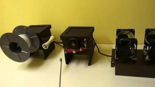 3D принтер. Нить для 3D принтера. Экструдер для изготовления нити.(Нить для 3D принтера. 1.75мм. Сварочный пруток. АВС пластик. PLA. Сварочный экструдер. Малый бизнес. Бизнес на..., 2015-12-01T18:21:02.000Z)