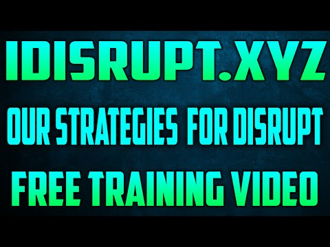 Disrupt MLM  - Strategies For Wicked Worldwide Growth  (Part. 1)