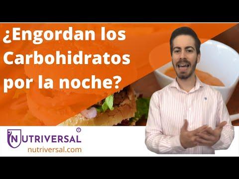 CARBOHIDRATOS POR LA NOCHE   Hidratos de Carbono, Adelgazar, Dieta