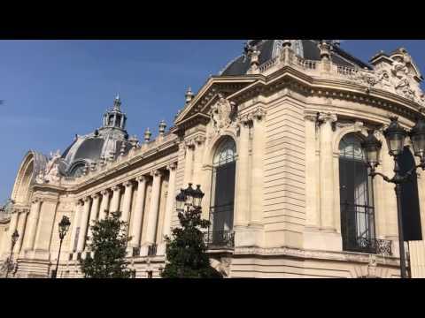 Walk Last Day at Grand Palace And Small Palace Paris. March 26, 2017