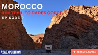 Todra Gorge via 4x4 trail in Morocco