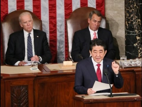 Address to a Joint Meeting of the U.S. Congress by Prime Minister Shinzo Abe