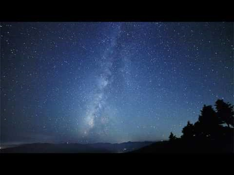 Time Lapse  The Milky Way in Japan 2  微速度撮影 天の川